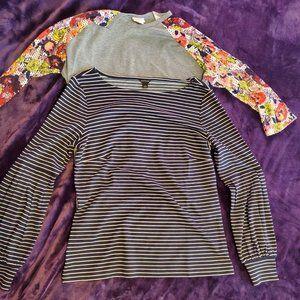 LuLaRoe & Ann Taylor Long Sleeve BUNDLE S/M